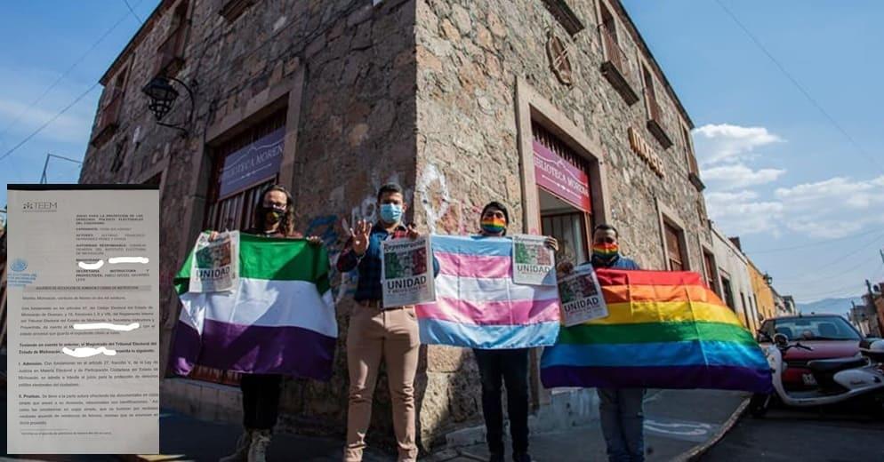 TEEM instruye designación de candidaturas a favor de la comunidad LGBTTTIQ