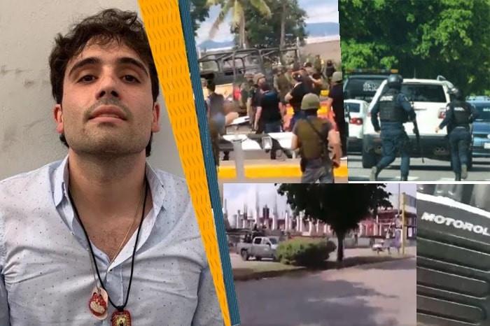 Filtran audios y videos de amenazas de sicarios a SEDENA para soltar al hijo del Chapo