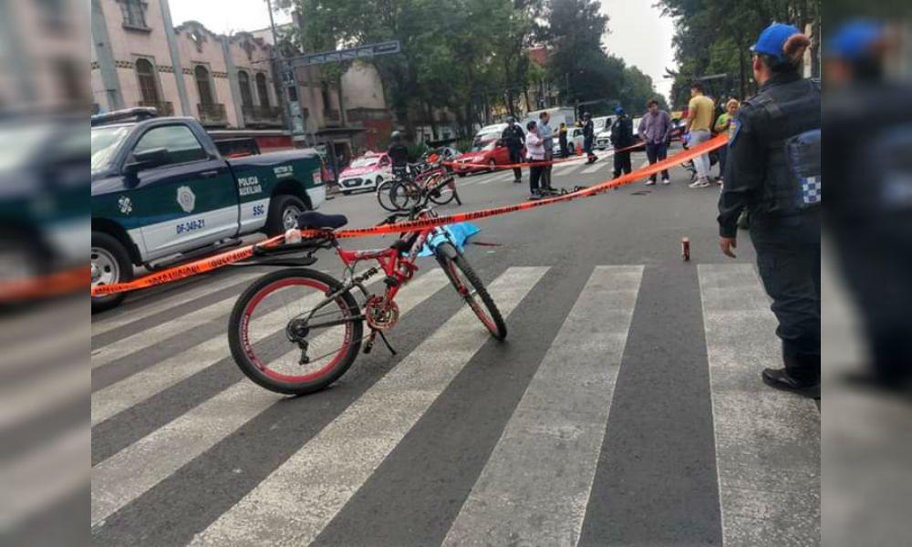 El video filtrado sobre el camión de Sedena que arrolla y mata a ciclista