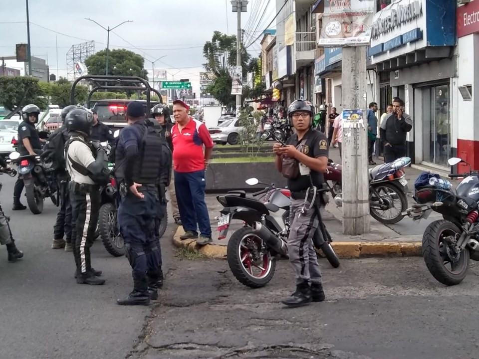 #Morelia: Se registra asalto simultaneo en dos bancos