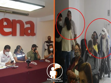 Anuncian que rutas de la victoria quedan invalidadas y se enojan morenistas en plena rueda de prensa