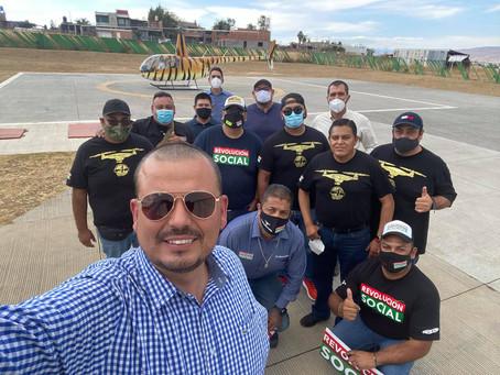 Llega a Morelia el  #memocopter, nuevo integrante de Revolución Social para cazar angelitos