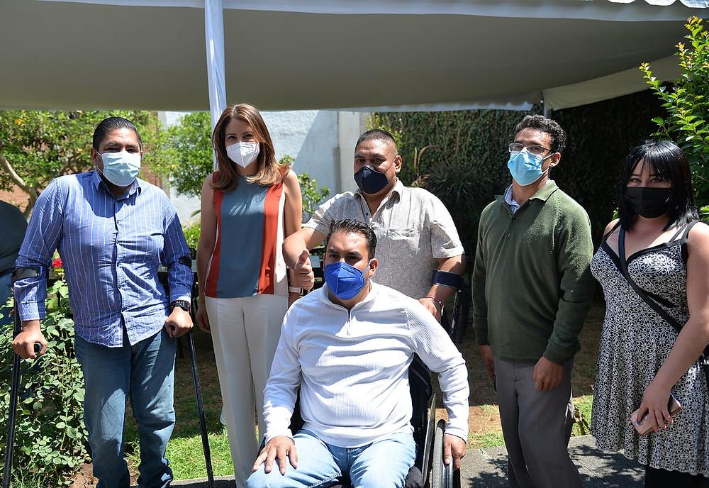 Asociaciones civiles y activistas de la inclusión se reúnen con Paola Delgadillo de Martínez