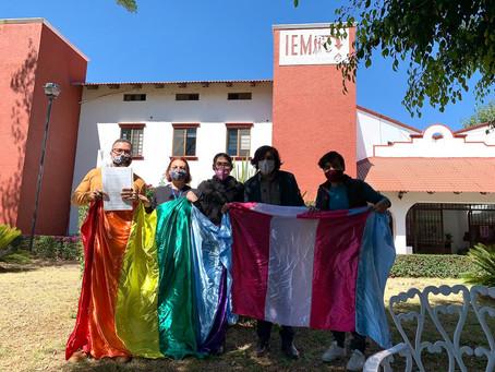 Comunidad LGBT de Morena solicita al IEM participación electoral
