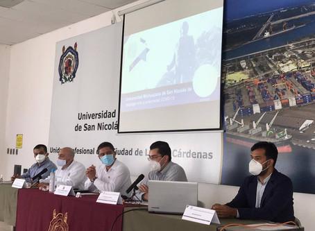 #UMSNH refuerza vínculo con el sector empresarial de Lázaro Cárdenas. Checa que se dijo