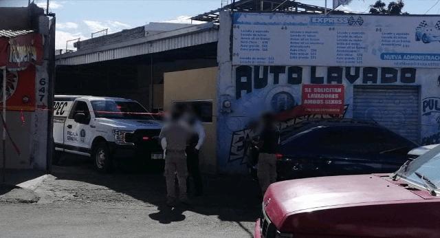 Otro atentado en Morelia: Asesinan a hombre en el interior de un autolavado