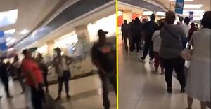 Sin temor al contagio, queretanos saturan cajeros automáticos (+Videos)