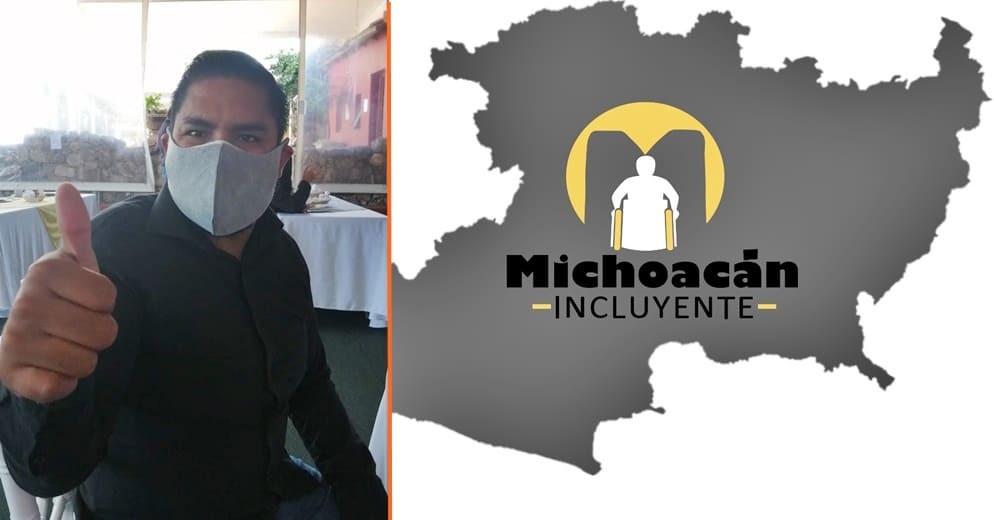 Activista Luis Ventura exhorta que se incluyan personas con discapacidad en proceso electoral