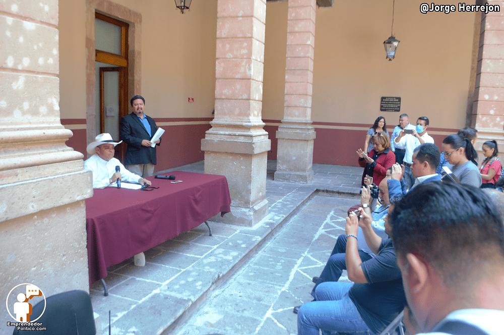 El Diputado Salvador Arvízu pide se tomen cartas en el asunto referente al Covid-19