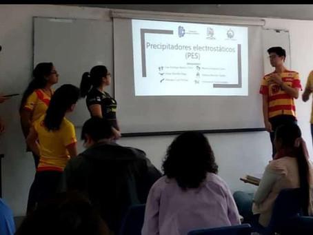 👑 Estudiantes del Tec de #Morelia se ponen la del Monarcas para exponer y se hacen virales
