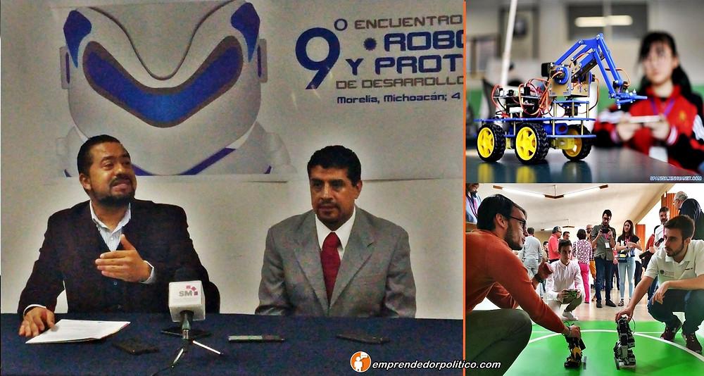 $130, 000 EN PREMIOS DISPUTARÁN EL 9 ENCUENTRO DE ROBÓTICA Y PROTOTIPOS DE DESARROLLO TECNOLÓGICO