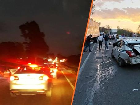 Saldo de Semana Santa en 66 hechos tránsito: 67 lesionados y 20 fallecidos