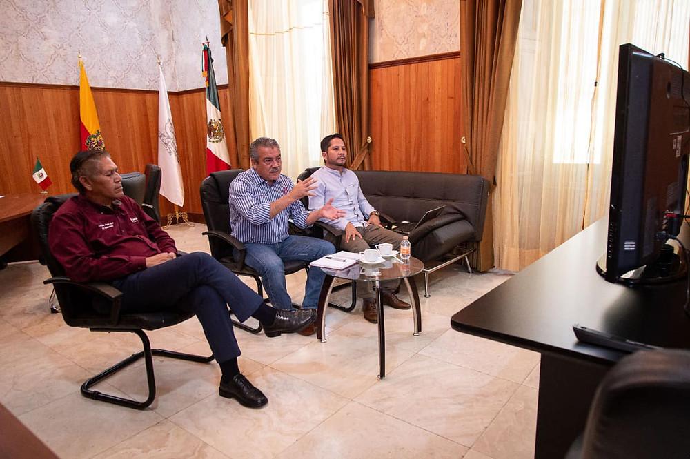 """""""El gabinete esta tranquilo"""": Morón sobre rumores de brote de COVID-19 en funcionarios municipales"""
