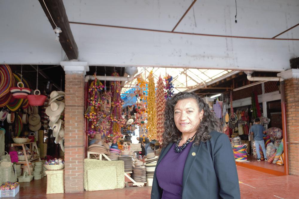 María Chávez, referente de las mujeres de Morena en Michoacán