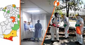 Michoacán alcanza 341 casos positivos acumulados por COVID-19; 77 recuperados y 46 fallecidos