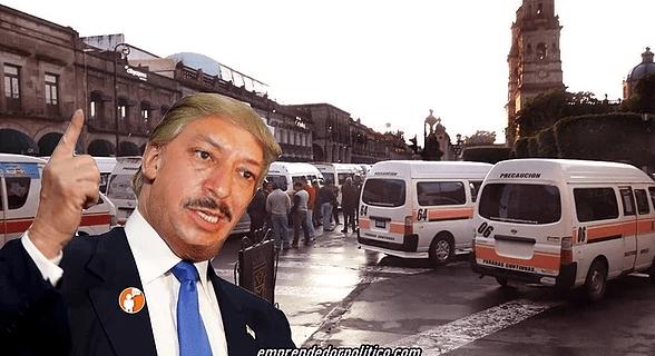 Los actos vándalicos que marcó la mafia del transporte público en #Michoacán durante el 2019