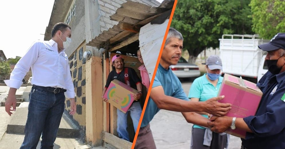 Michoacán Alimenta, ejemplo de atención a sectores vulnerables ante COVID-19