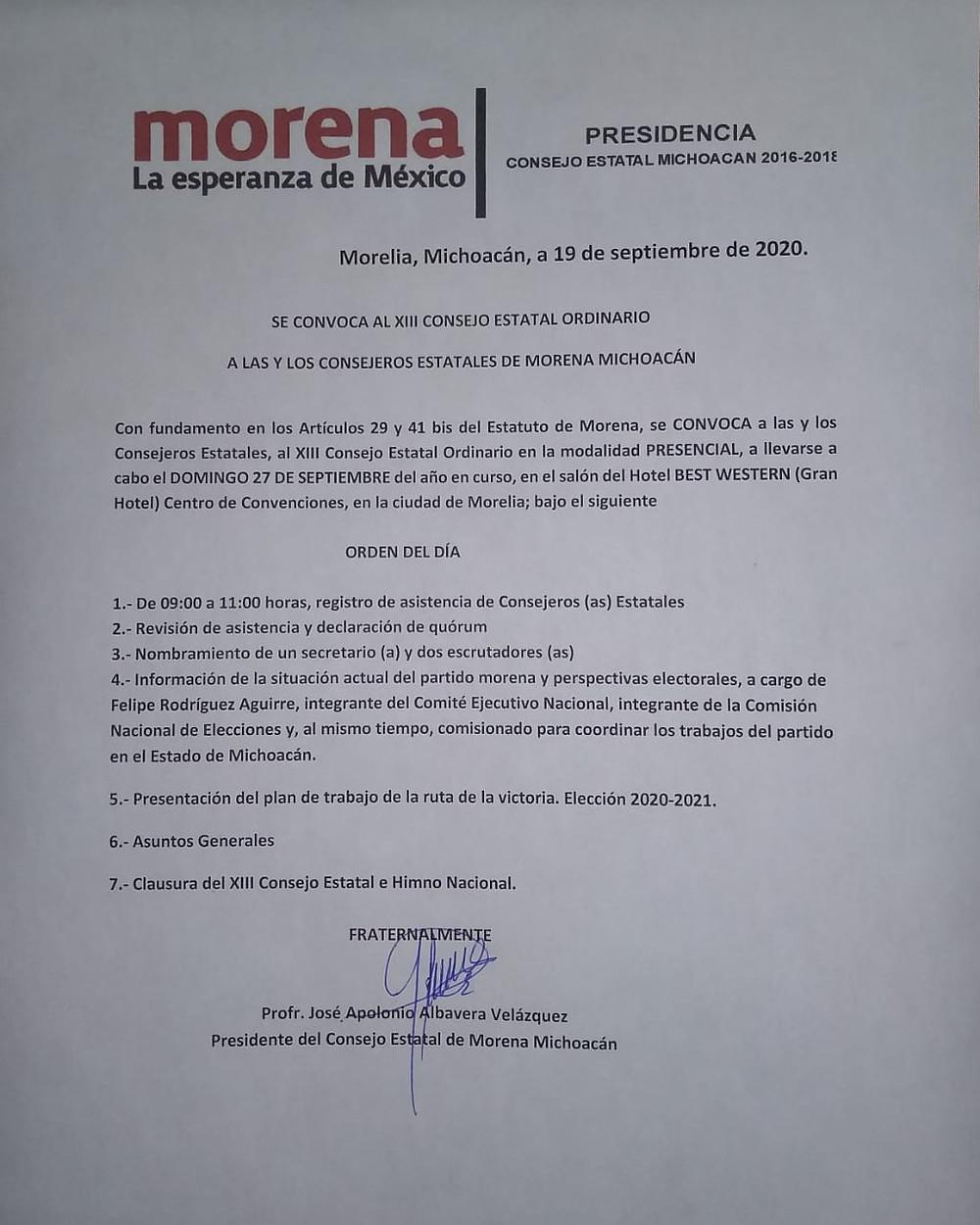 Opinión y análisis: Por agandallados, al autodenominado CEE de Morena Michoacán no le sale ni una