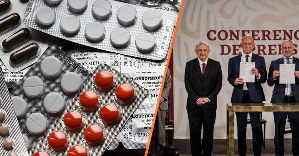 AMLO firma convenio con la ONU para la compra de medicamentos