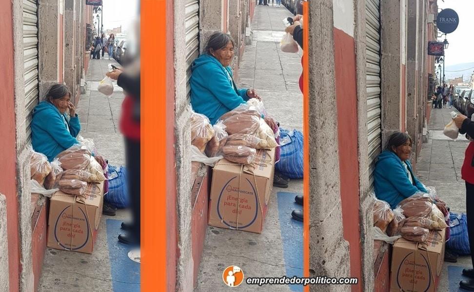 #Denuncia: piden ayuda para difundir productos de abuelita de Pichátaro que vende en Morelia