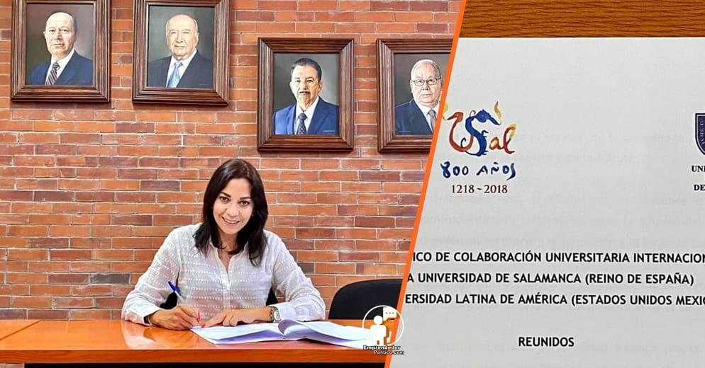 UNLA y Universidad de Salamanca firman acuerdo de cooperación y estos serán los beneficios