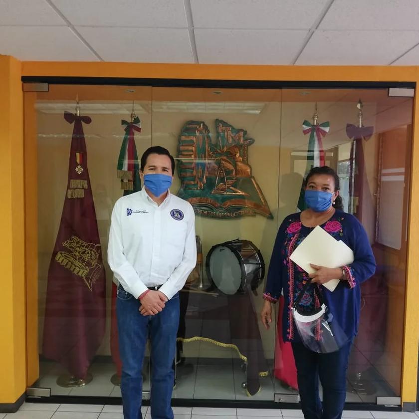 Diputada María Chávez atiende pliegos petitorios del Tecnológico de Morelia para enfrentar el COVID