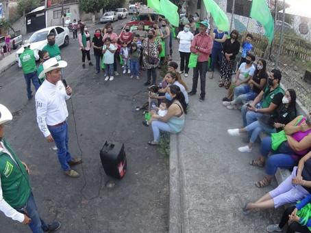 Salvador Arvizu convoca a la ciudadanía a participar en la construcción de su propuesta legislativa