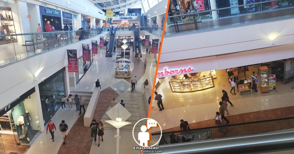Morelianos salen masivamente de shopping tras apertura de centro comercial