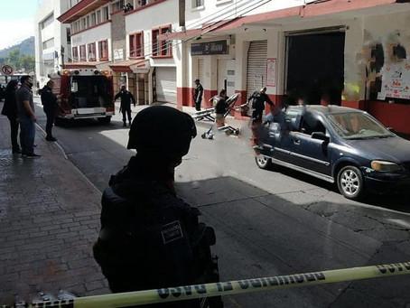 Atentado en cocina económica de Uruapan deja heridos y fallecidos