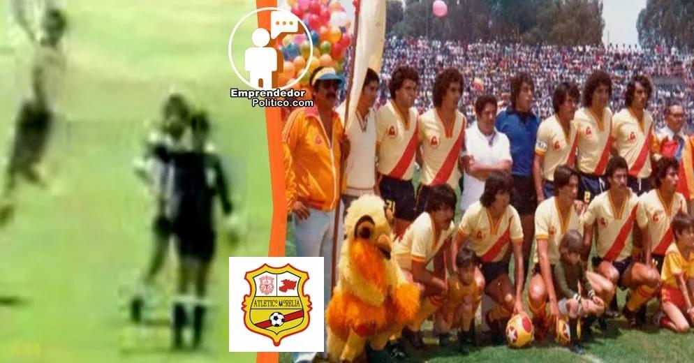 39 años después, hoy se vuelven a enfrentar Tapatíos vs Atlético Morelia