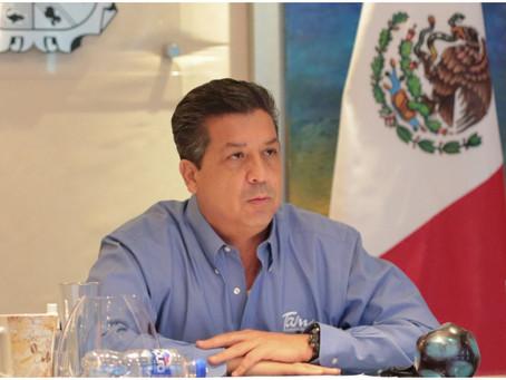 Cámara de Diputados desafuera a Francisco García Cabeza de Vaca, gobernador de Tamaulipas