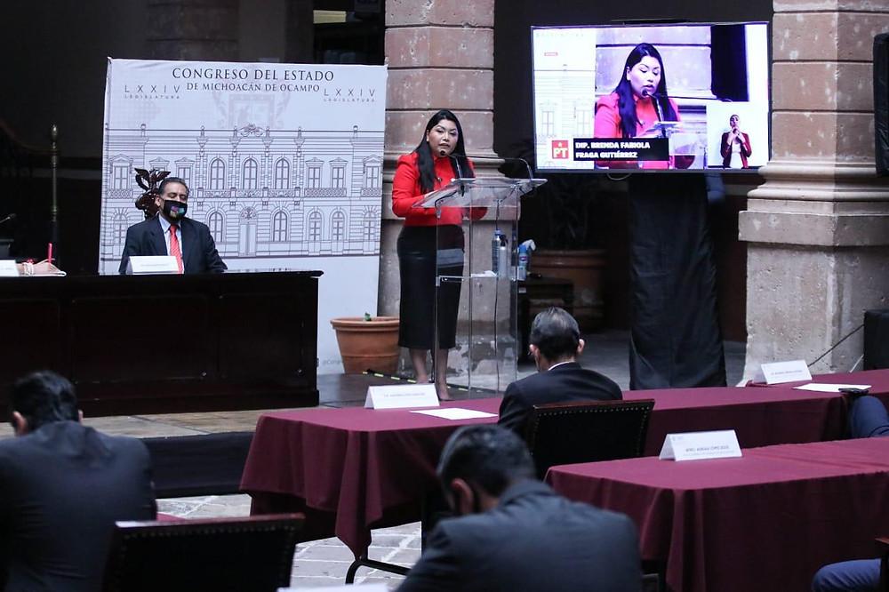 Congreso debe hacer contrapeso a la opacidad y la discrecionalidad, no ser comparsa: Brenda Fraga