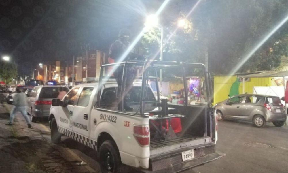 VIDEO: Pasajeros enfrentan y matan a dos delincuentes que se subieron a robarlos en ruta de Iztapala
