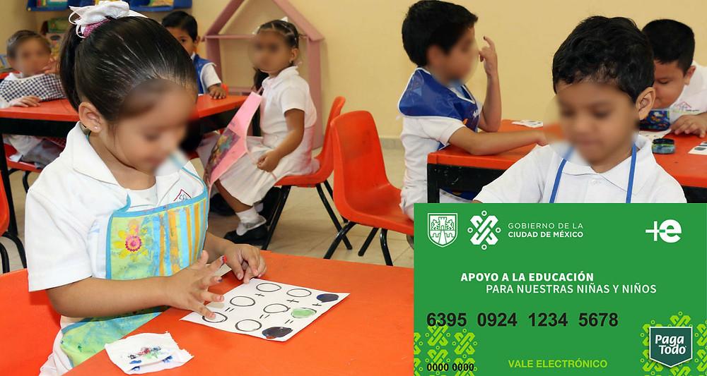 Niñas y niños de preescolar en CDMX recibirán beca de 330 pesos mensuales