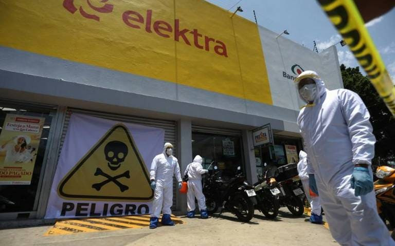 Que siempre SÍ, Elektra cerrará todas sus tiendas para evitar Covid-19: STPS