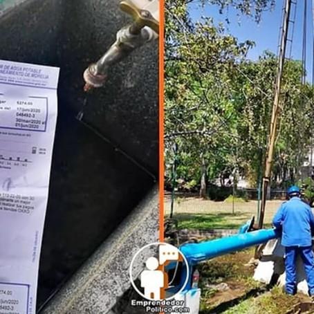 ¡Aguas! Por mantenimiento de planta este miércoles disminuirá presión de agua