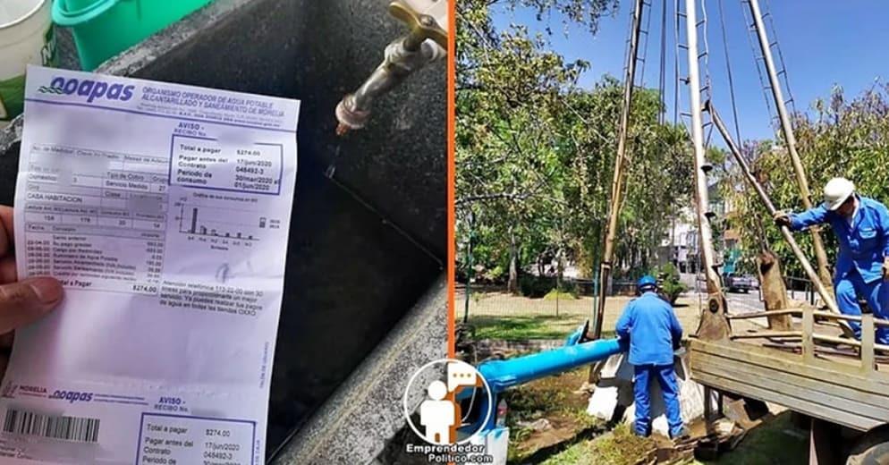 #Michoacán: Aprueban decreto para que municipios hagan descuentos en el agua durante la contingencia