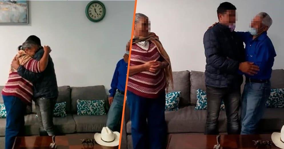 #Michoacán: Reúne Fiscalía General a un matrimonio con su hijo desaparecido hace 35 años