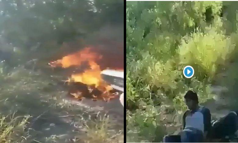 Video: Narcos queman vivos a adversarios acusados de secuestrar mujeres