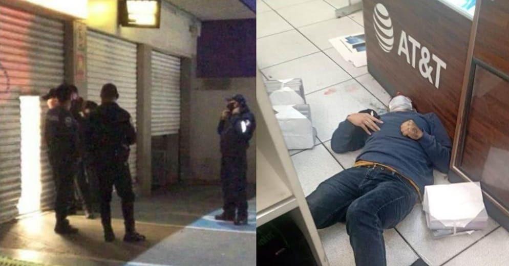 Entra a robar a tienda Coppel y es abatido por guardia de seguridad