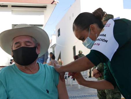 Ya van 16 mil 108 adultos mayores vacunados contra COVID-19
