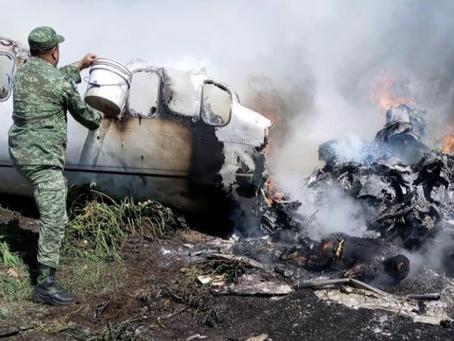 SIETE MUERTOS en accidente de aeronave de la Fuerza Aérea en Veracruz (+Fotos+Video)