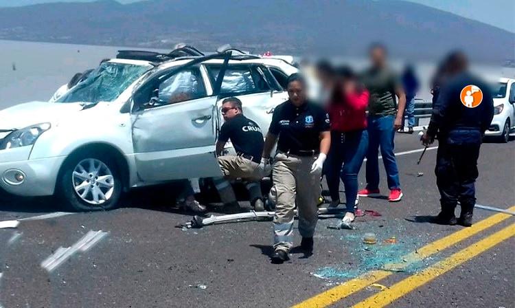 Fatal accidente en Cuitzeo