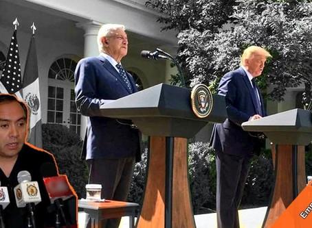 La visita de AMLO a Washington: decoro y dignidad vs deshonra y guerra