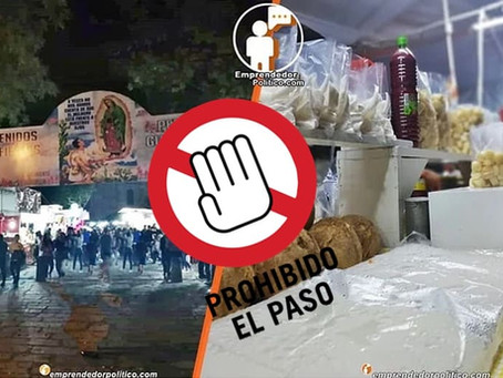 Comerciantes del cañaFest no ceden, colocarán sus puestos pese a restricciones