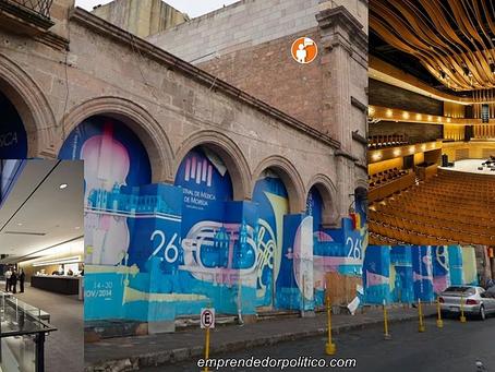 Prometen que Teatro Mariano Matamoros estará listo y entregado en Marzo