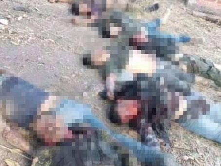 Masacre en Aguililla: Ocho muertos en enfrentamiento entre grupos armados antagónicos