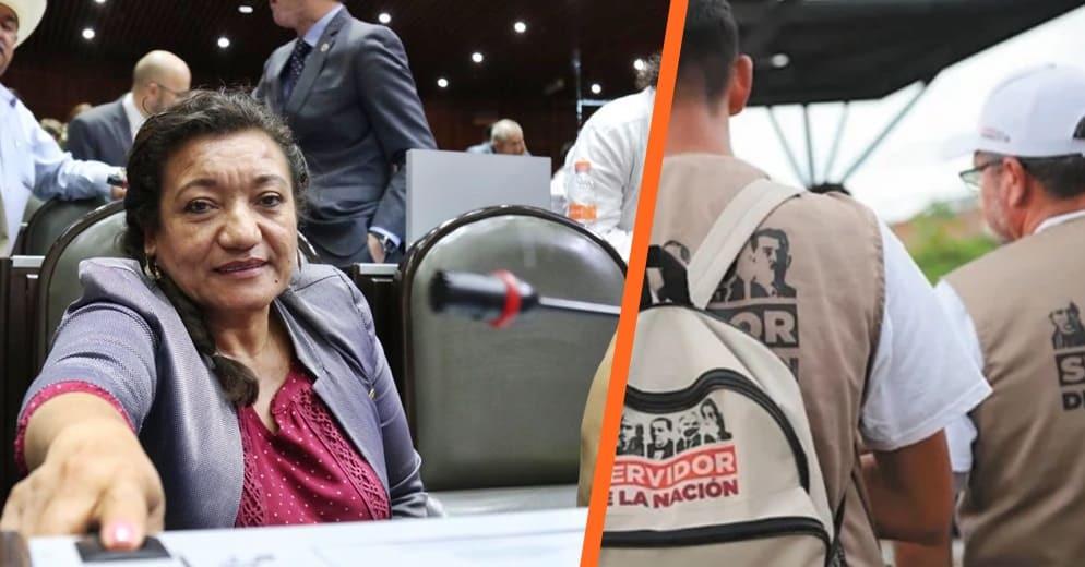 Diputada María Chávez invita a la ciudadanía a denunciar irregularidades en programas federales