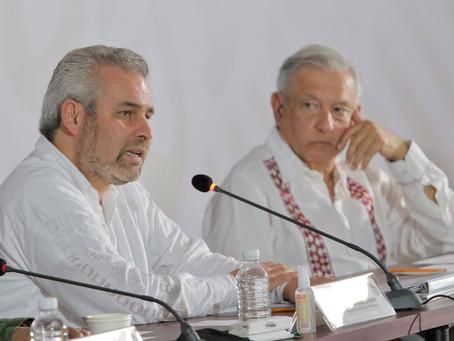 AMLO le cumplirá a Michoacán con federalización de nómina educativa: Bedolla