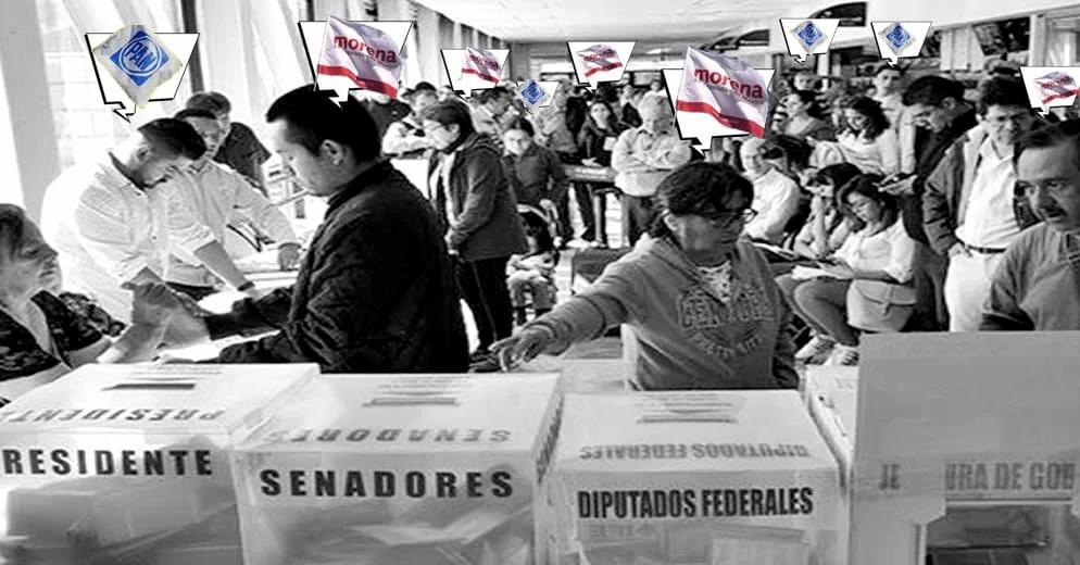 Morena con mucha ventaja; mantendría mayoría en San Lázaro en 2021 de acuerdo a encuestas